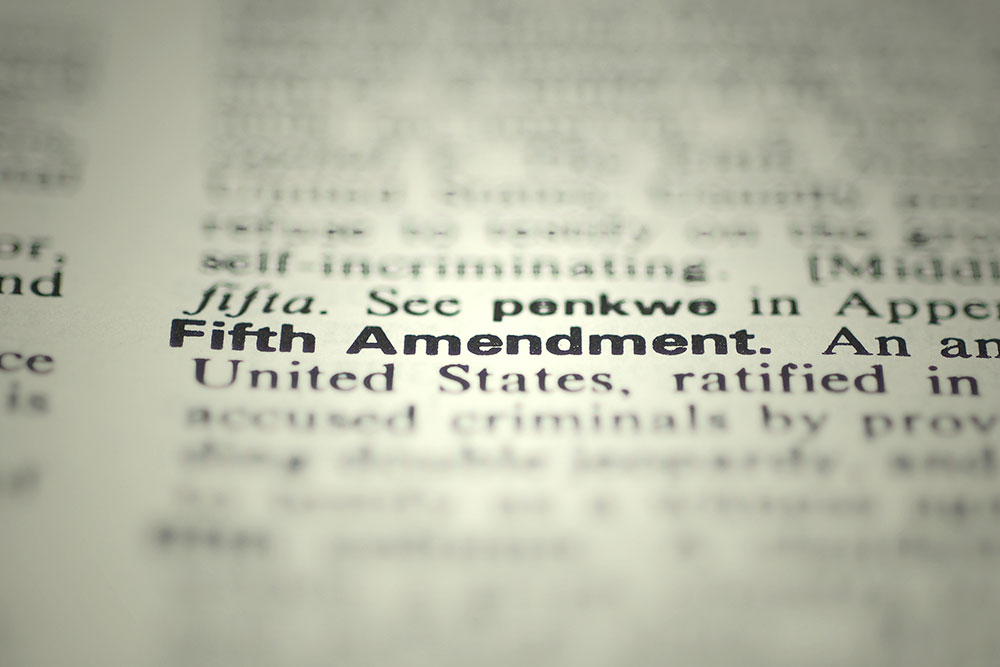 Fifth Amendment Due Process And Other De S